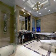 2016独特欧式三居室卫生间装修效果图欣赏
