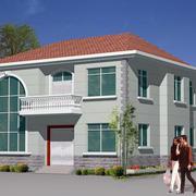 现代房屋外景图