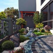 韩式大别墅庭院展示