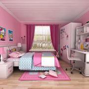 粉紫色儿童房图片