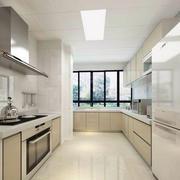米白色厨房展示