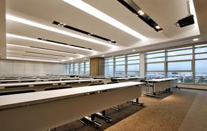 2016都市公司大型会议室吊顶装修效果图