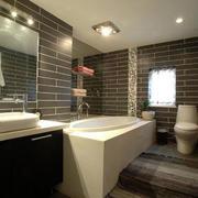 卫生间浴缸装饰