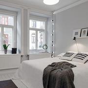 白色唯美卧室展示