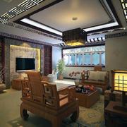 极致精美的大户型中式室内家具装修效果图