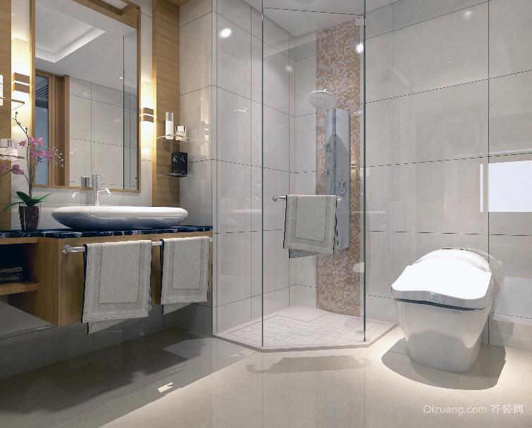 2016大户型欧式整体浴室装修效果图鉴赏