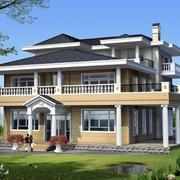 现代别墅造型模板