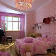 浪漫精美儿童房图片