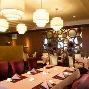 餐厅静谧灯光欣赏