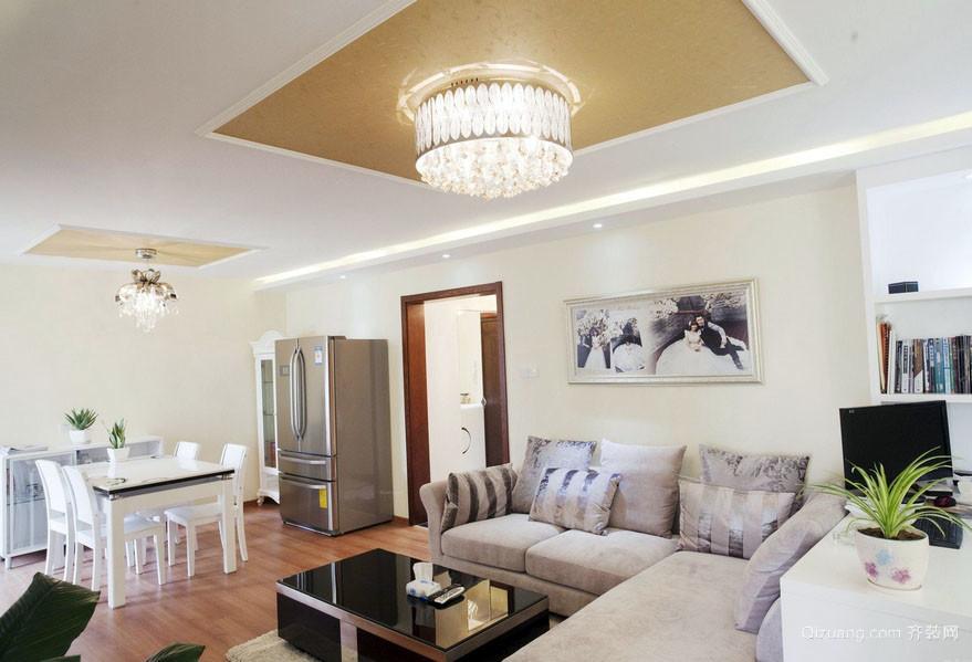 100平米老房屋客厅朴素装修效果图
