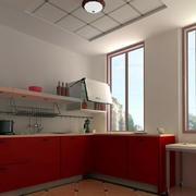 都市现代化厨房吊顶