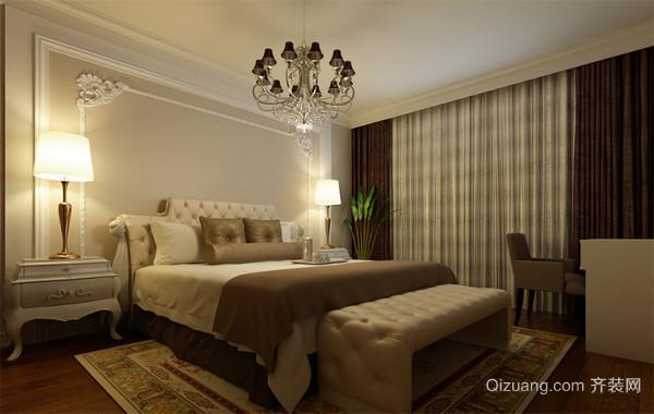 情调独特的欧式小户型家庭卧室装修效果图