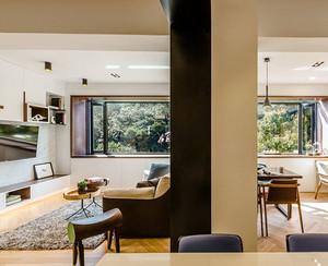 简约温馨小户型两居室装修设计效果图