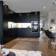 北欧开放式厨房欣赏