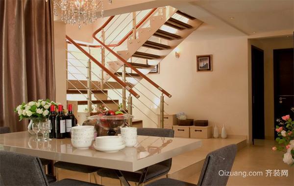 2016唯美欧式大户型阁楼室内装修设计效果图