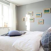 北欧光线充足卧室展示