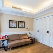 房子舒适布艺沙发展示