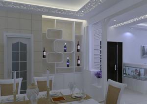 2016高档欧式风格别墅酒柜装修设计效果图
