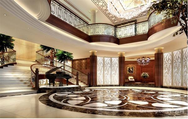 高档大气的欧式别墅装修装潢设计效果图