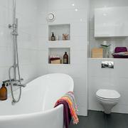 北欧干净卫生间设计