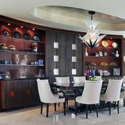 唯美的室内桌椅设计