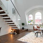 北欧时尚小楼梯展示