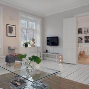 北欧纯美小客厅