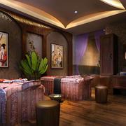 日式风情的美容院设计