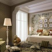 重拾辉煌:老房屋简约田园大卧室装修图