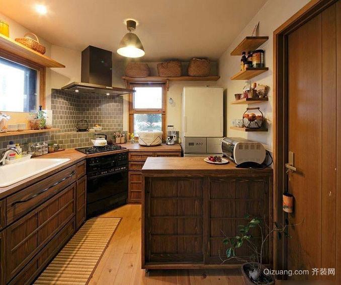 乡村风格老房屋6平米厨房装修效果图