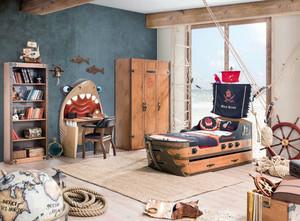 主题设计:老房屋20平米儿童房装修图
