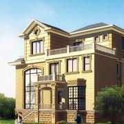 暖色调别墅设计图