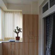 阳台窗帘设计图