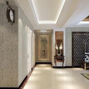 现代化的走廊吊顶