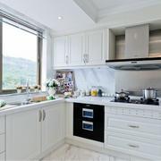 80平米经典欧式小户型小厨房装修效果图鉴赏