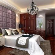 2016三室一厅主卧室简欧衣柜设计效果图