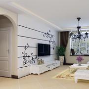 精致的客厅门设计