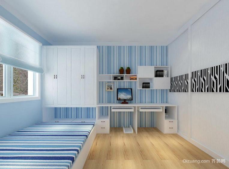 现代风格榻榻米小卧室装修效果图