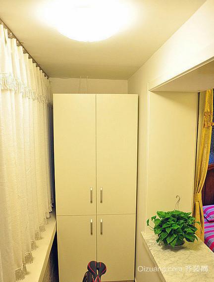明亮舒适的大户型阳台储物柜装修效果图鉴赏