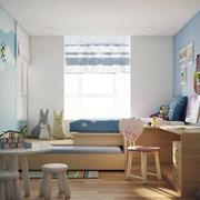俏皮小户型儿童房宜家榻榻米床装修图