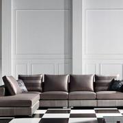 时尚的沙发背景墙
