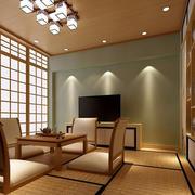 日式特色:家居茶室榻榻米装修效果图