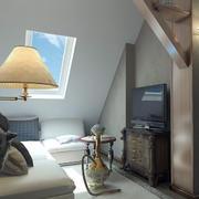 阁楼小客厅图片展示