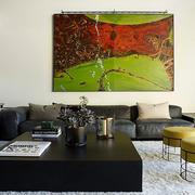 客厅抽象画装饰欣赏