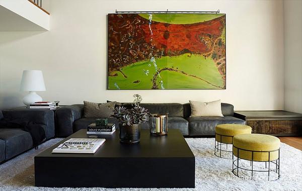 艺术之家:大户型别墅混搭装饰装修设计图