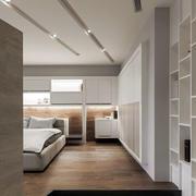 大卧室生态木地板装修