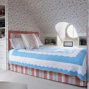 田园风格阁楼卧室