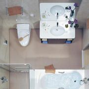 唯美的卫生间设计