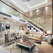 现代欧式别墅型楼中楼装修效果图实例