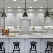 2016大户型欧式风格开放式厨房装修效果图实例